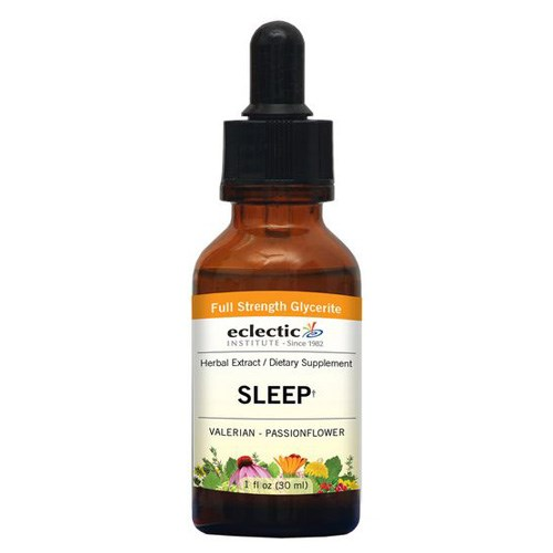 Valerian Passion Flower 1 Oz Alcohol free by Eclectic Institute Inc