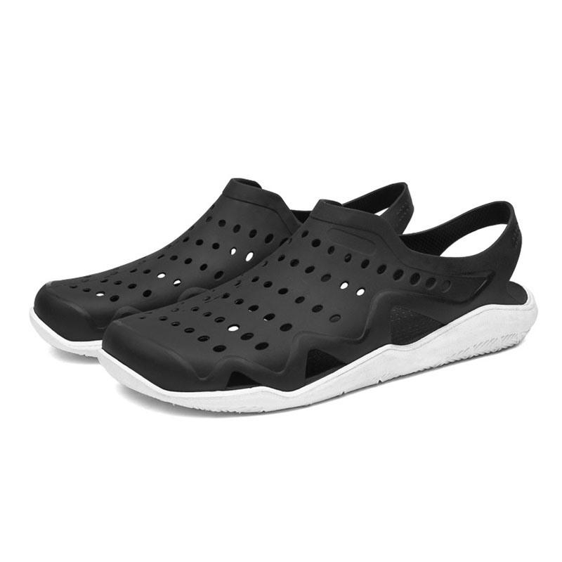 Ericdress Simple Hollow Slip-On Color Block Men's Sandals