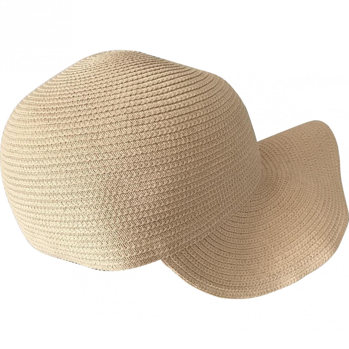Paule Ka \N Beige Wicker hat for Women M International