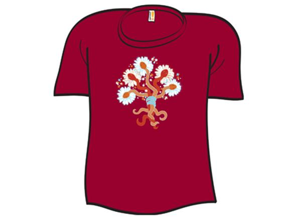 Snake Bouquet T Shirt