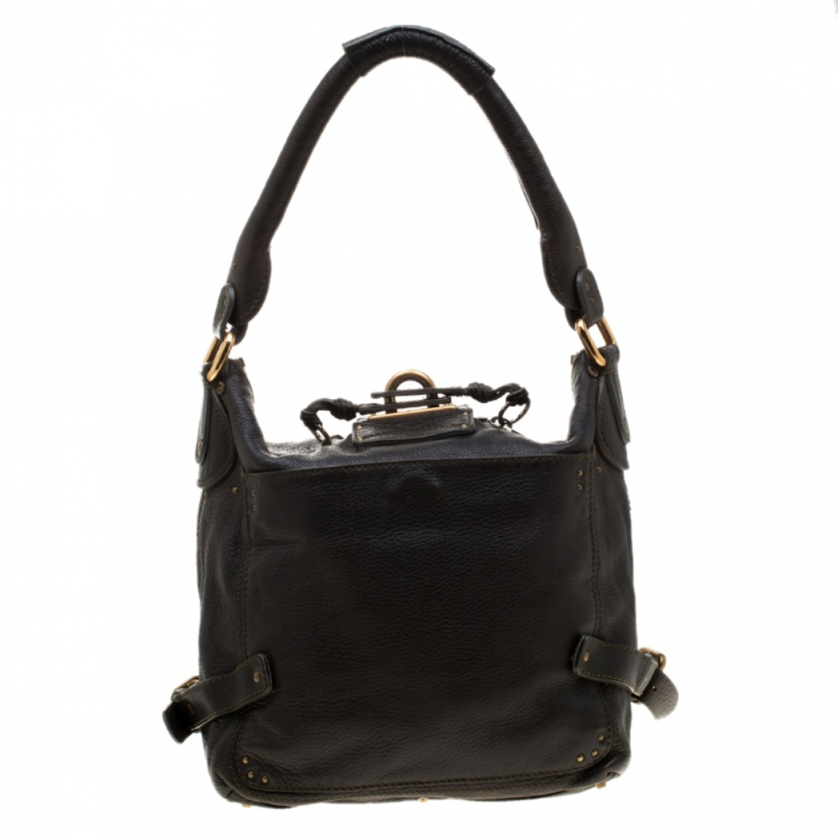 Chloé Paddington Green Leather handbag for Women \N
