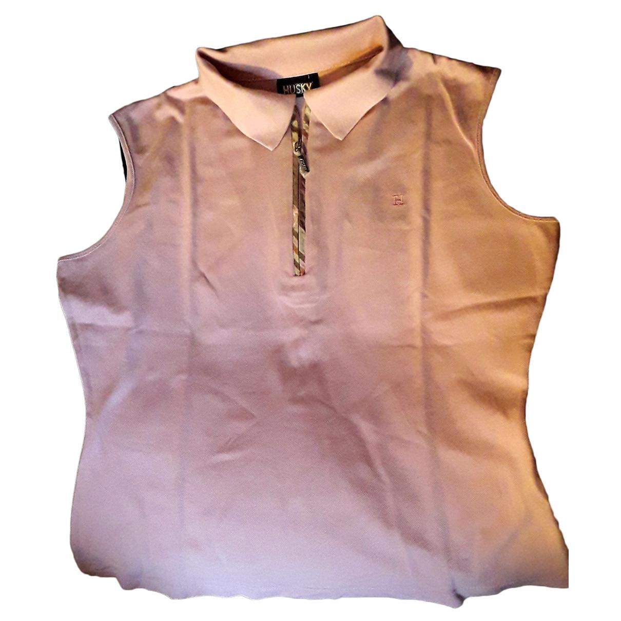 Husky \N Pink Cotton Knitwear for Women 44 IT