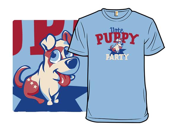 Puppy Politics T Shirt