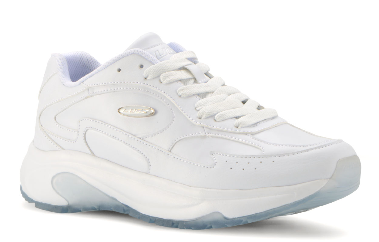 Men's Typhoon Oxford Sneaker (Choose Your Color: WHITE/CLEAR ICE BLUE, Choose Your Size: 7.5)
