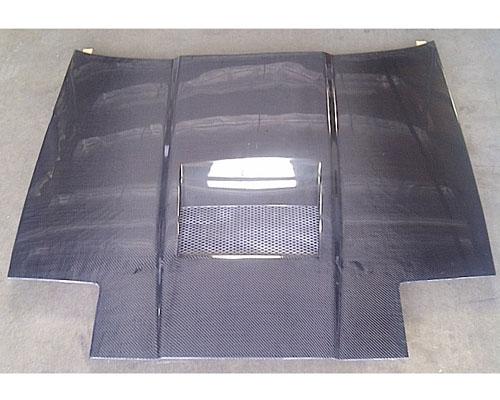 Advan Carbon BKTS86-AC868HCI Intruder Design Carbon Fiber Hood Toyota Supra 1986-1992