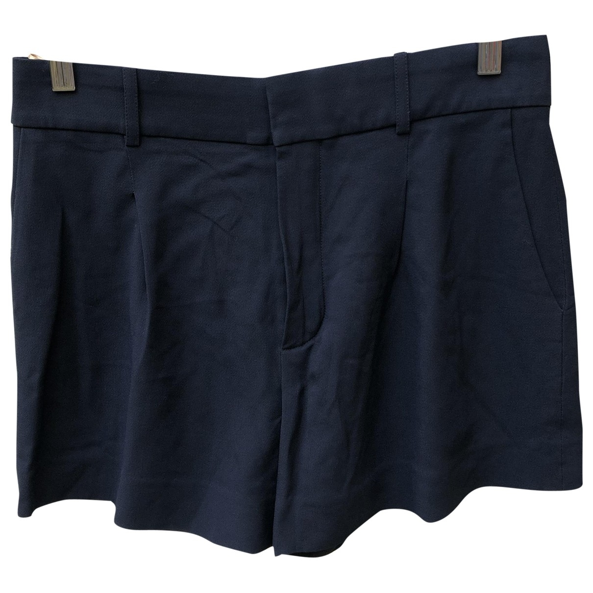 Chloé \N Navy Shorts for Women 38 FR