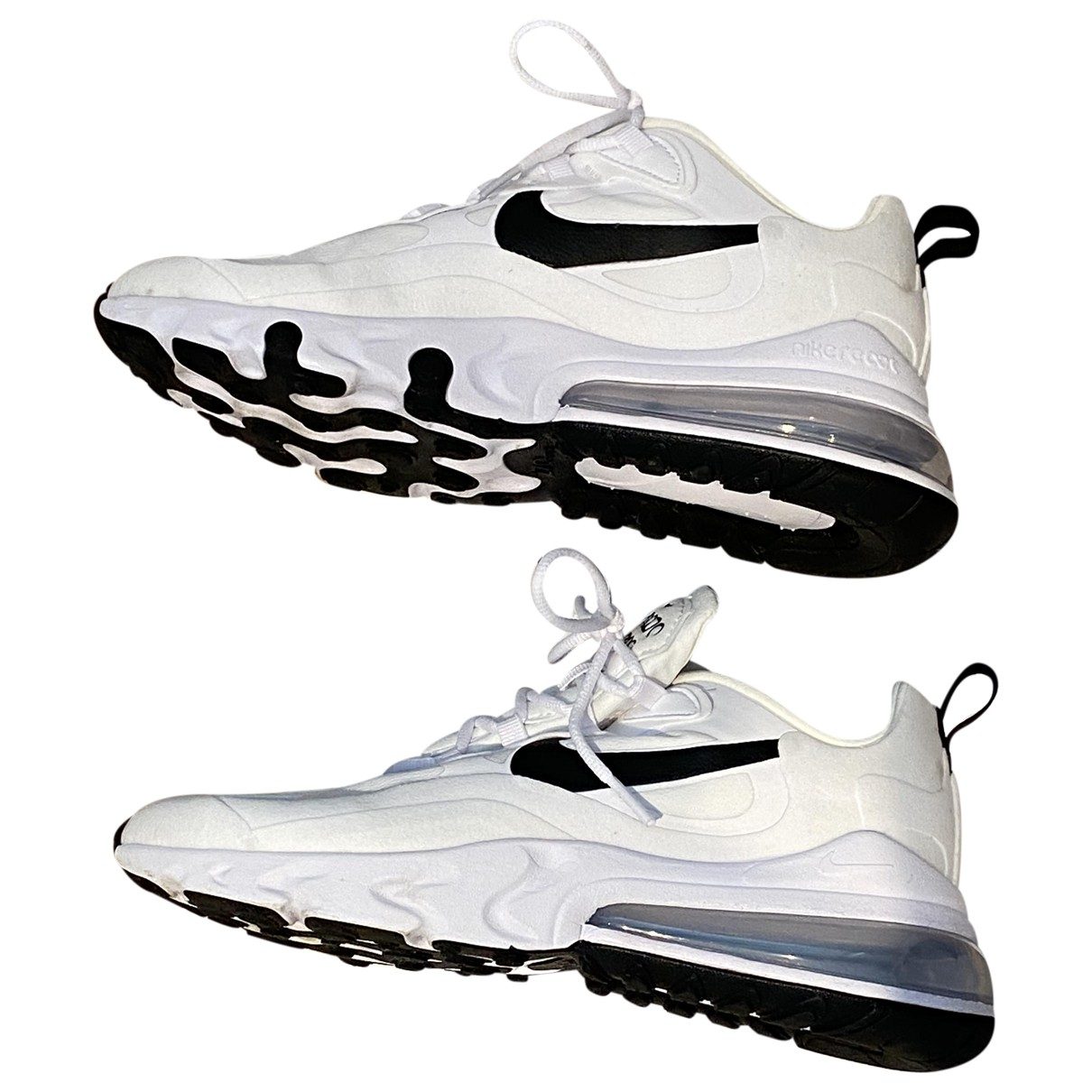 Nike Air Max 270  White Cloth Trainers for Women 5.5 UK