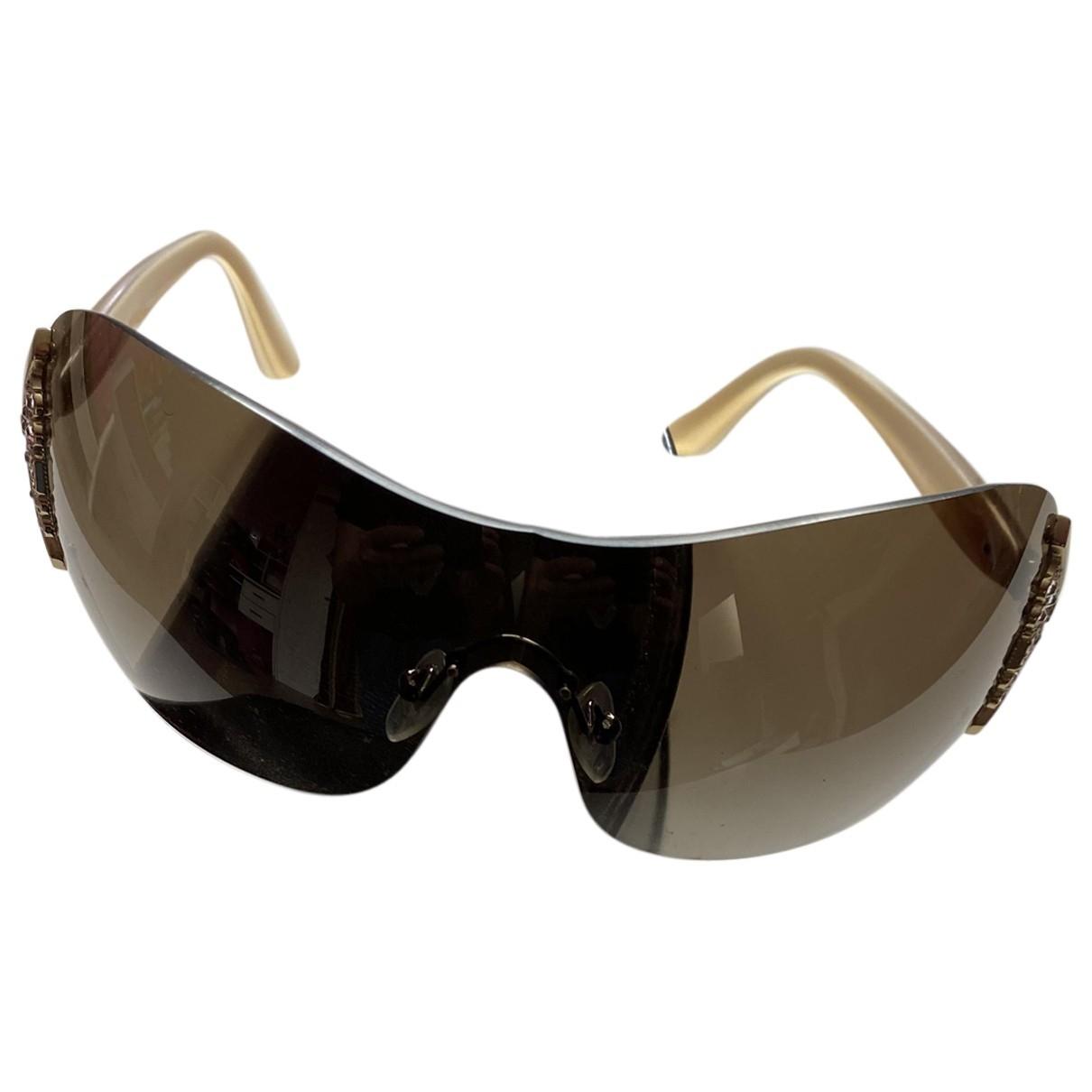 Bvlgari \N Beige Metal Sunglasses for Women \N