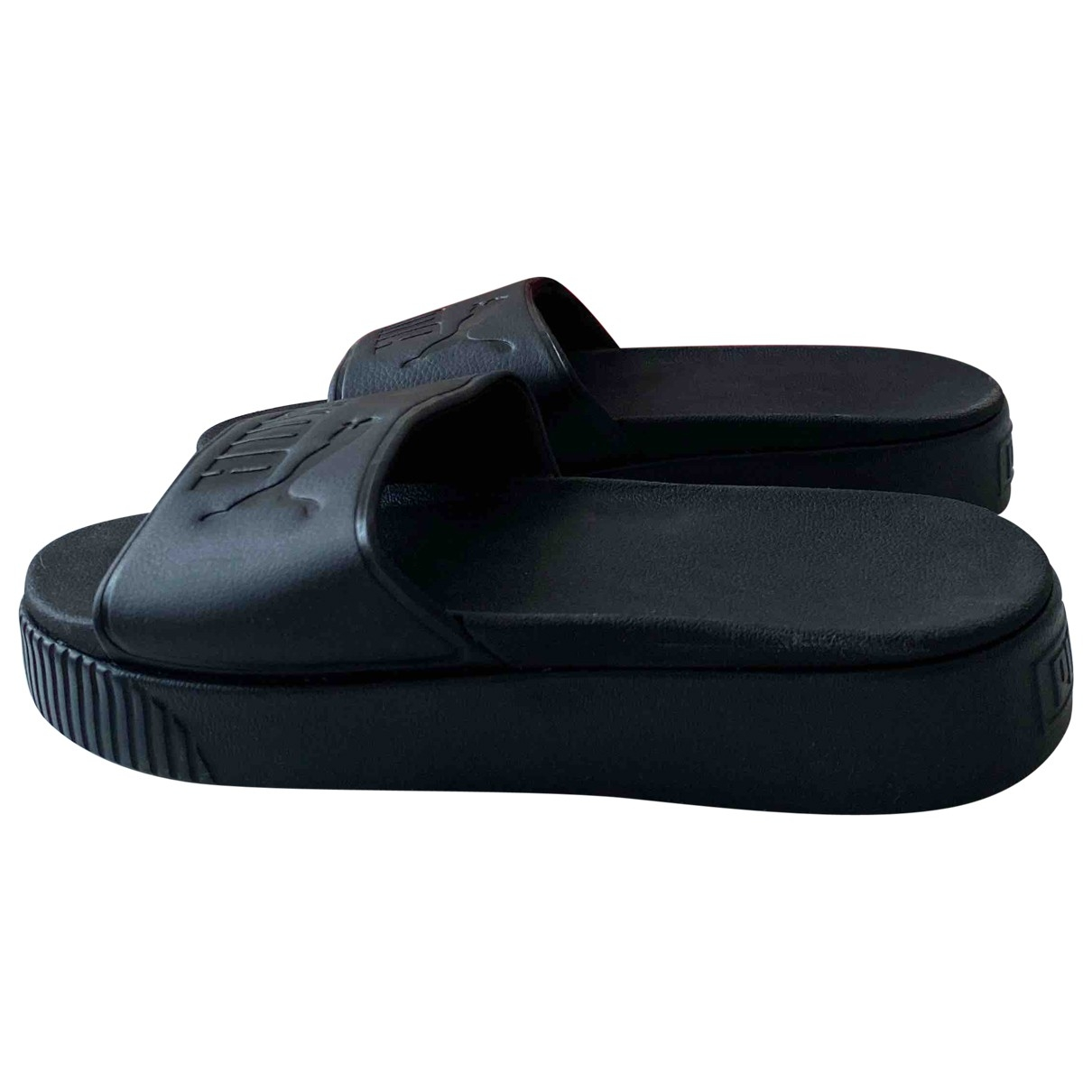 Puma \N Black Sandals for Women 7 UK