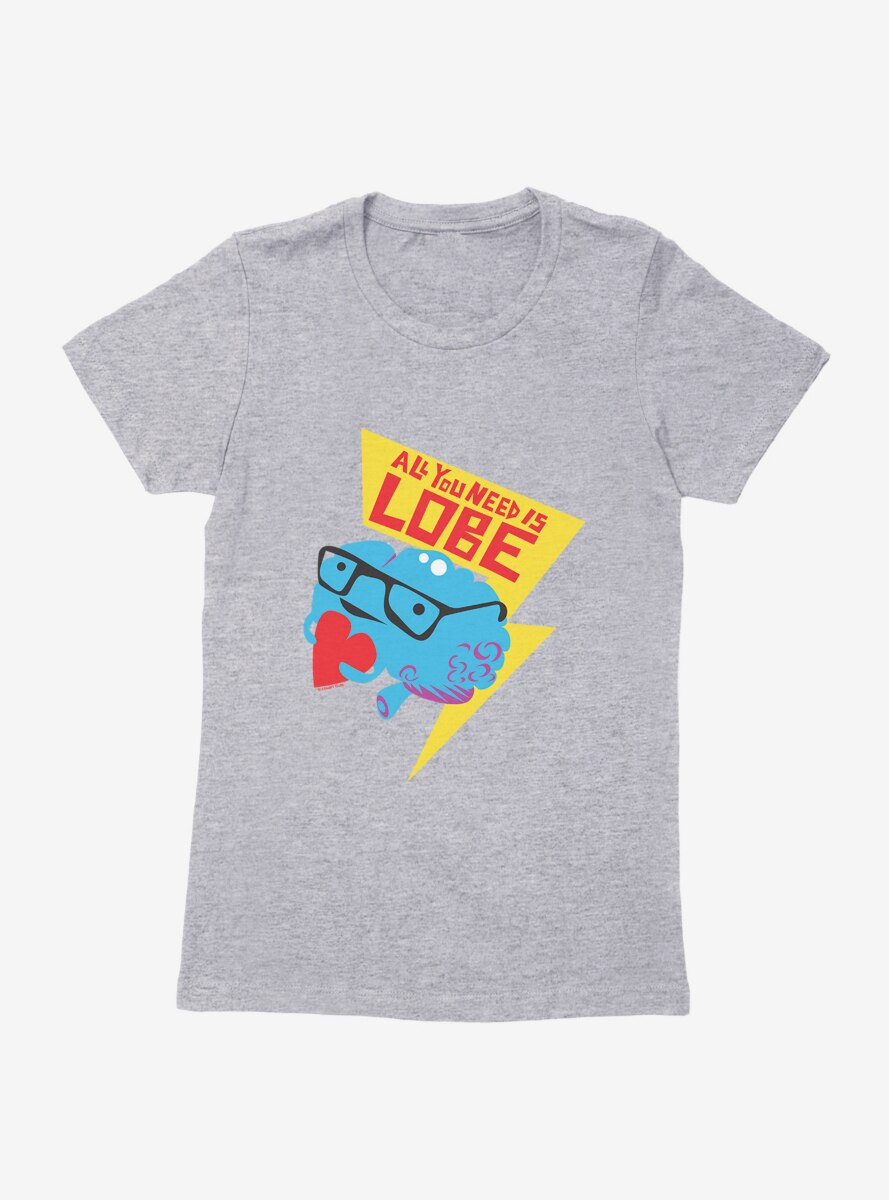 BL Creators: I Heart Guts All You Need Is Lobe Womens T-Shirt