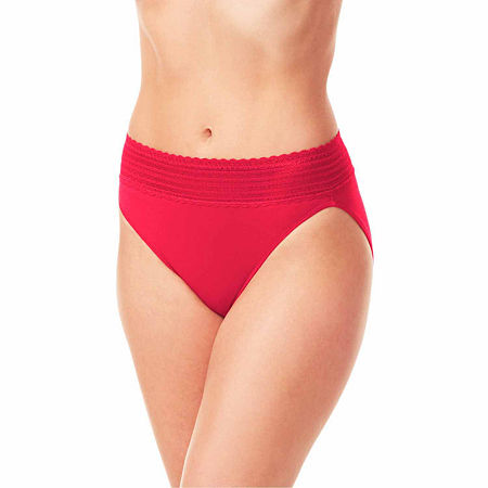 Warners Hipster Panty 5609j, X-large , Red