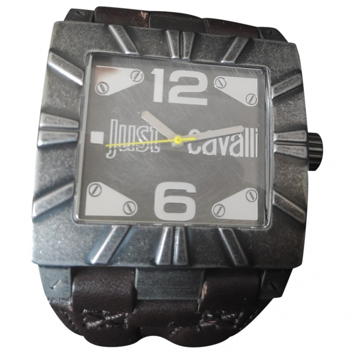 Just Cavalli \N Anthracite Steel watch for Men \N