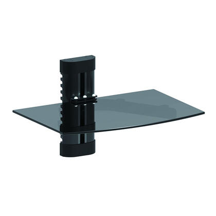 PrimeCables® Height Adjustable DVD Component Single shelf
