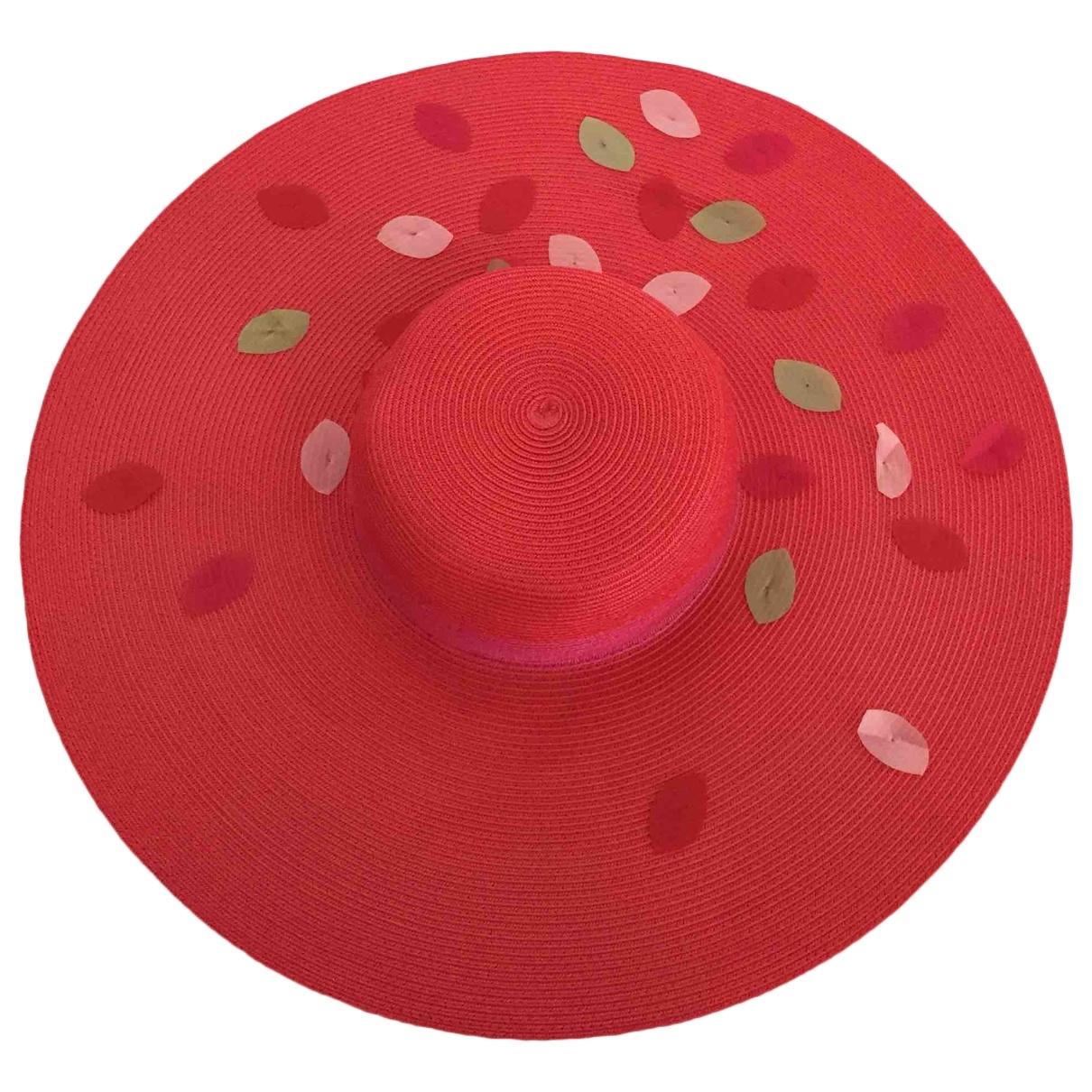 Dior \N Red Wicker hat for Women XS International
