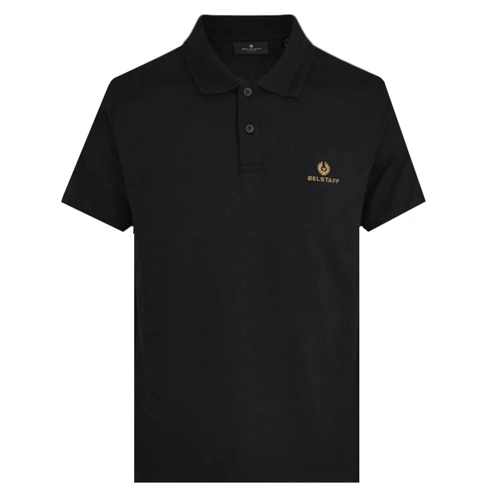 Belstaff Short Sleeve Polo Colour: BLACK, Size: SMALL