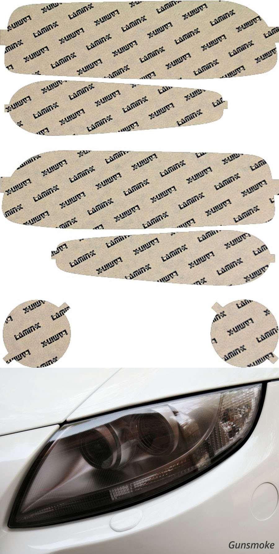 GMC Yukon Denali 02-06 Gunsmoke Headlight Covers Lamin-X G004G