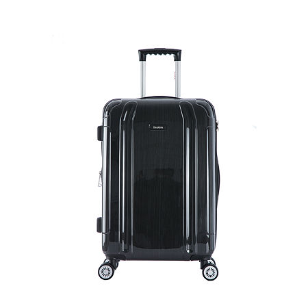 InUSA Southworld Lightweight Hardside 23 Inch Spinner Luggage, One Size , Gray