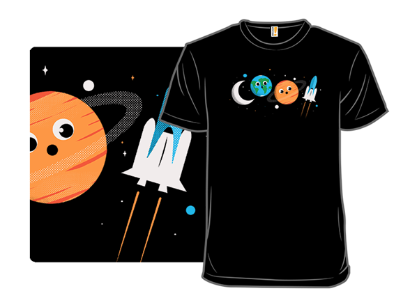 Space Is Cool! T Shirt
