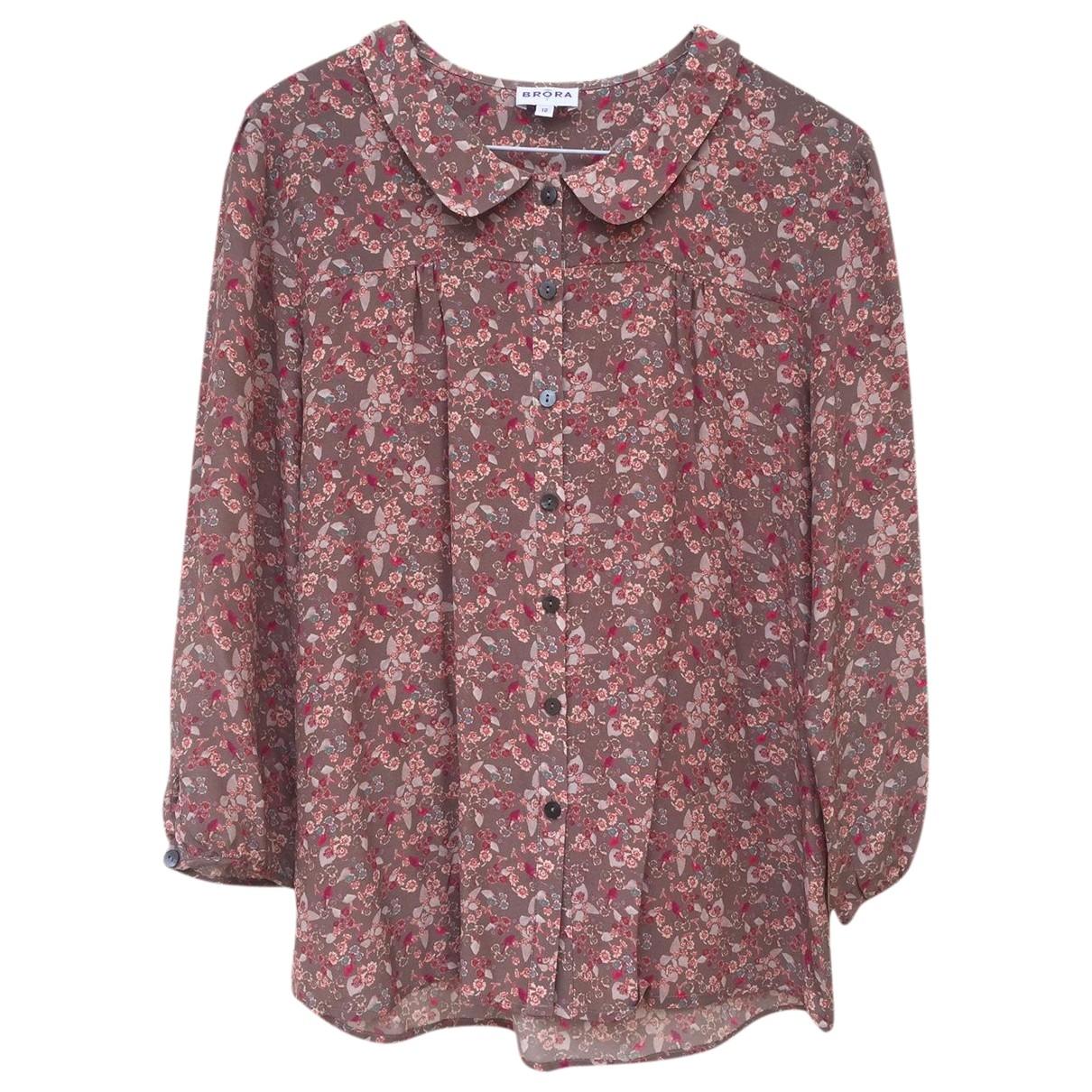 Brora \N Brown Silk  top for Women 12 UK
