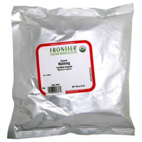 Organic Ground Nutmeg 16 Oz by Frontier