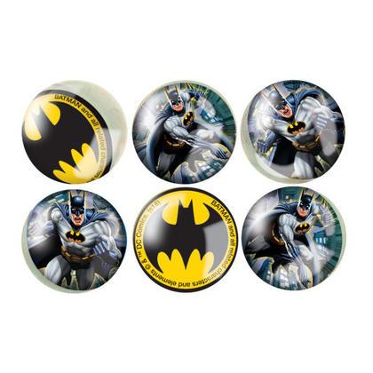 Batman 6 Bounce Balls For Birthday Party