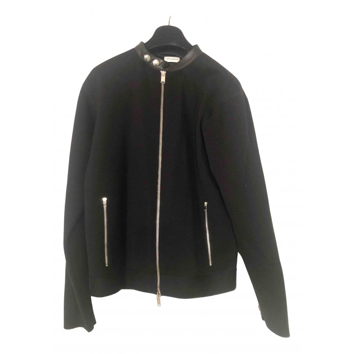 Saint Laurent \N Black Wool Knitwear & Sweatshirts for Men M International