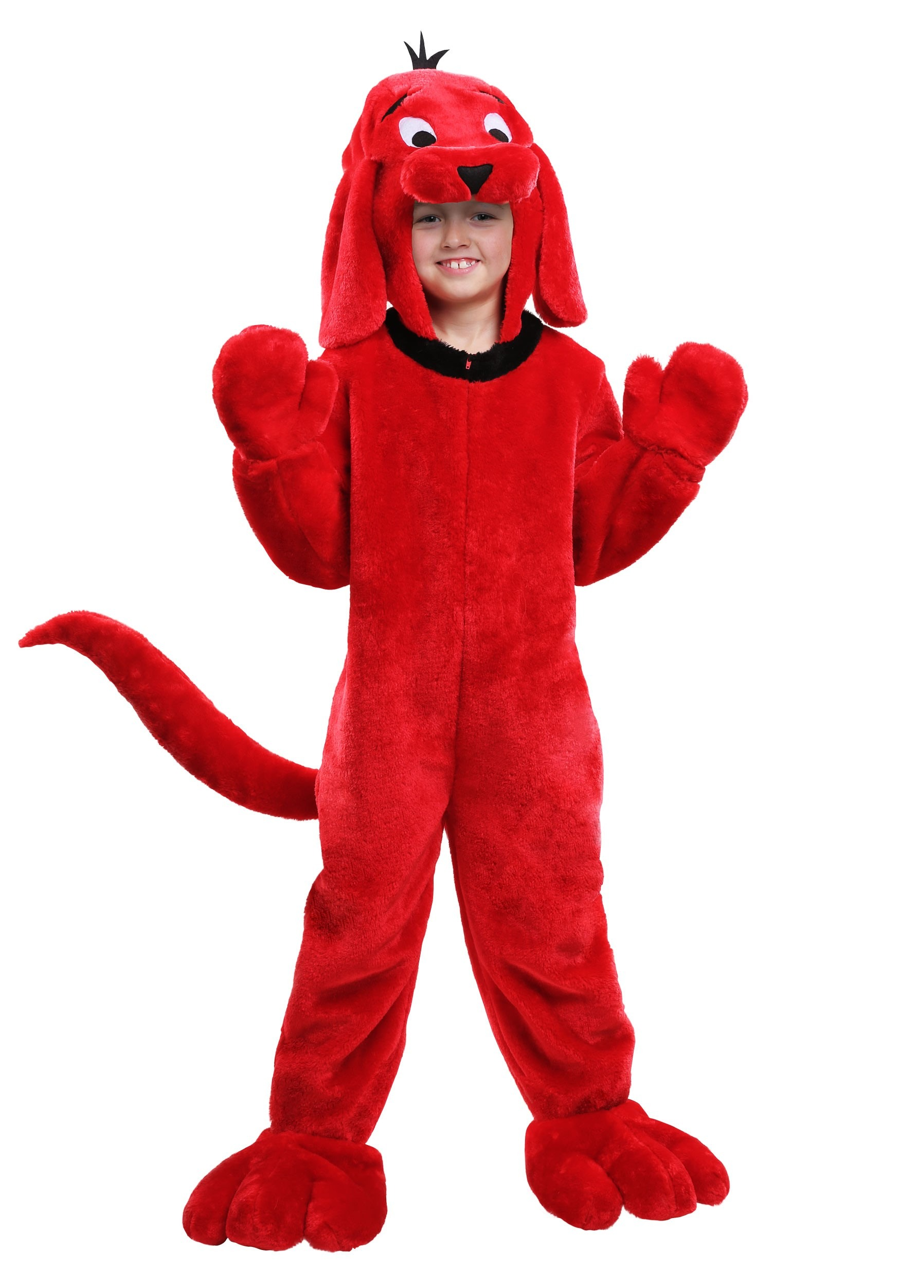 Clifford the Big Red Dog Costume for Kids