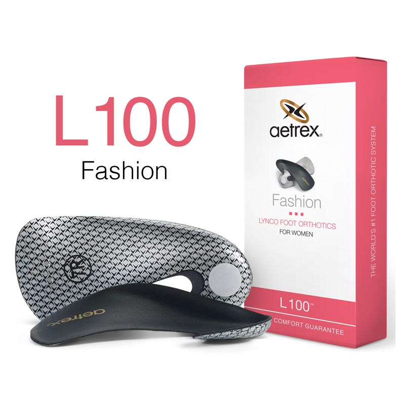 Lynco By Aetrex L100 (Women's) Black 10 M