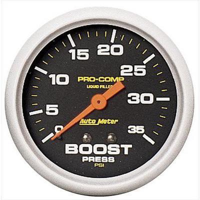 Auto Meter Pro-Comp Liquid-Filled Mechanical Boost Gauge - 5404