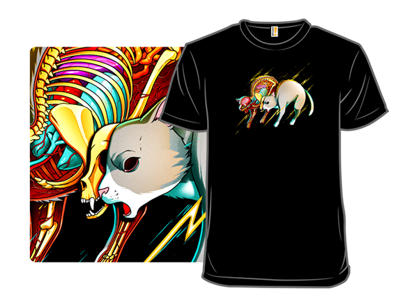 Electric Cat T Shirt