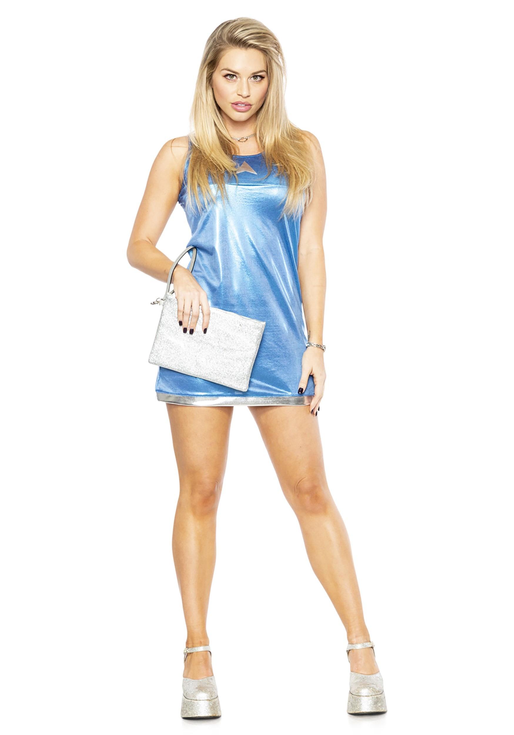 Blue Reunion Dress for Women