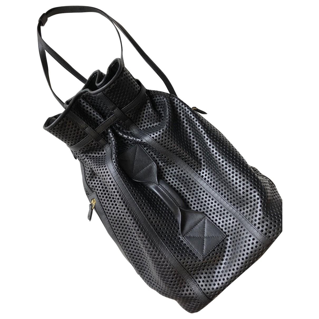 Jerome Dreyfuss \N Black Leather handbag for Women \N