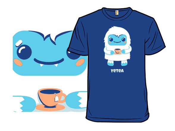 Yeti Tea Time T Shirt