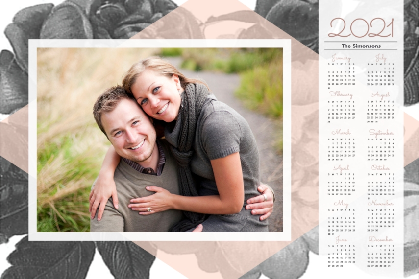 Calendar 20x30 Poster(s), Board, Home Décor -In Bloom