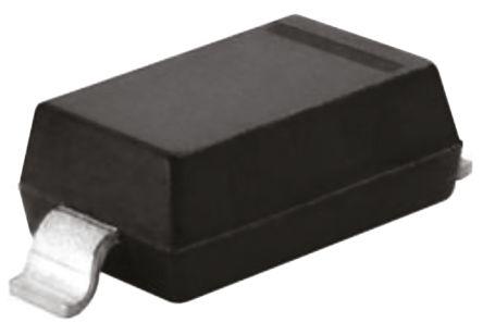 DiodesZetex Diodes Inc, 3.3V Zener Diode 6% 500 mW SMT 2-Pin SOD-123 (250)