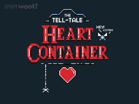 The Tell-tale Heart Container T Shirt