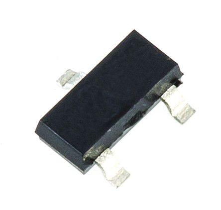 Nexperia BC847,215 NPN Transistor, 100 mA, 45 V, 3-Pin SOT-23 (50)