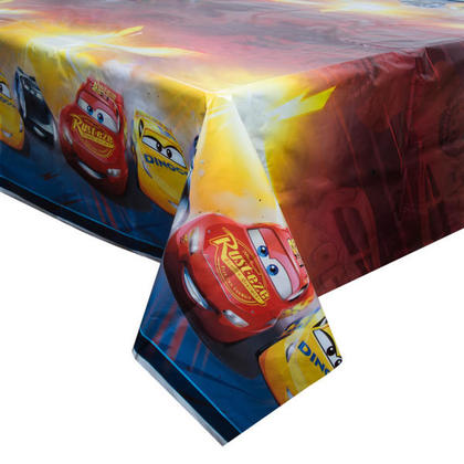 Cars 1 Plastic Tablecover 54