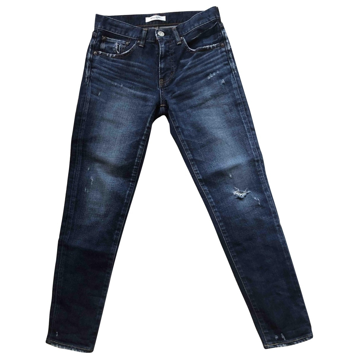 Moussy \N Blue Cotton - elasthane Jeans for Women 25 US