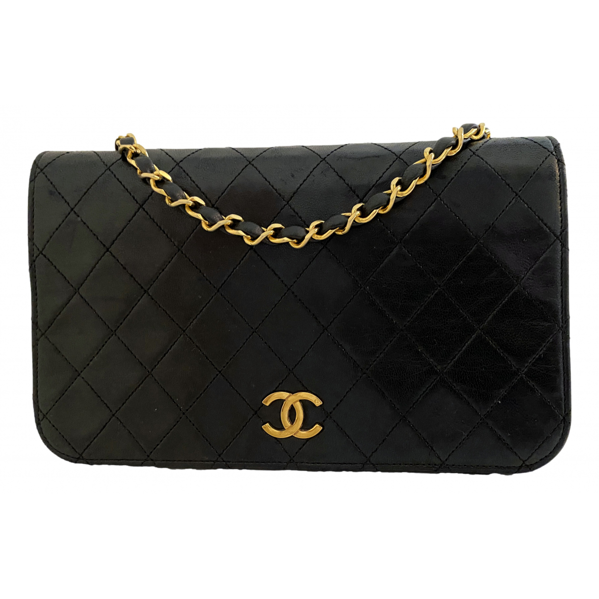 Chanel Wallet on Chain Black Leather Clutch bag for Women \N