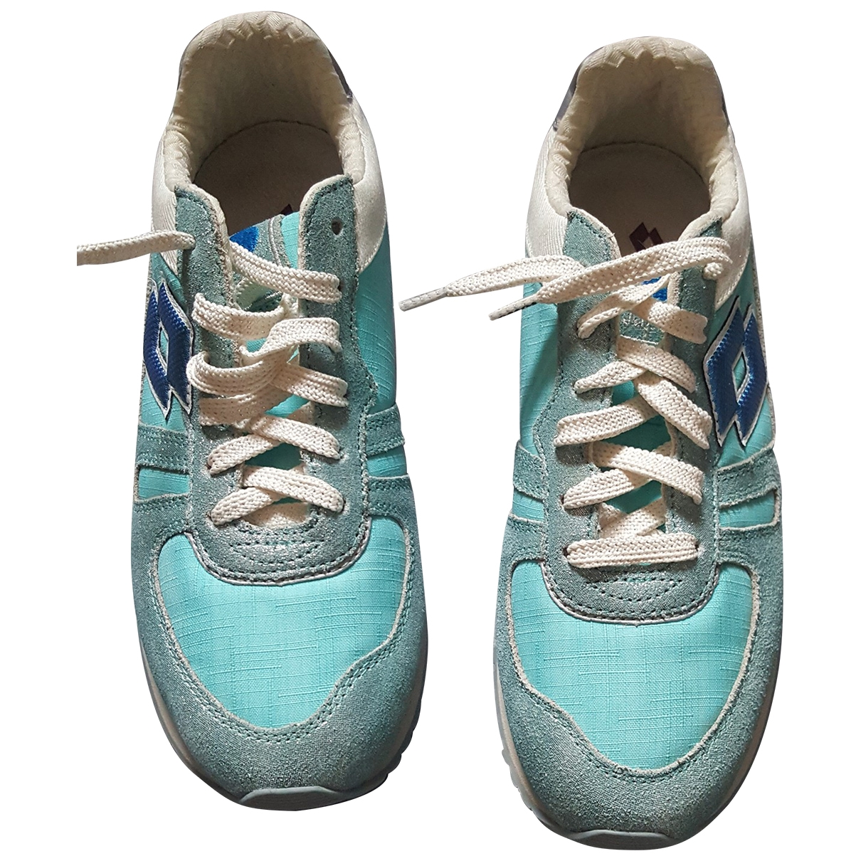 Lotto \N Blue Rubber Trainers for Women 38 EU