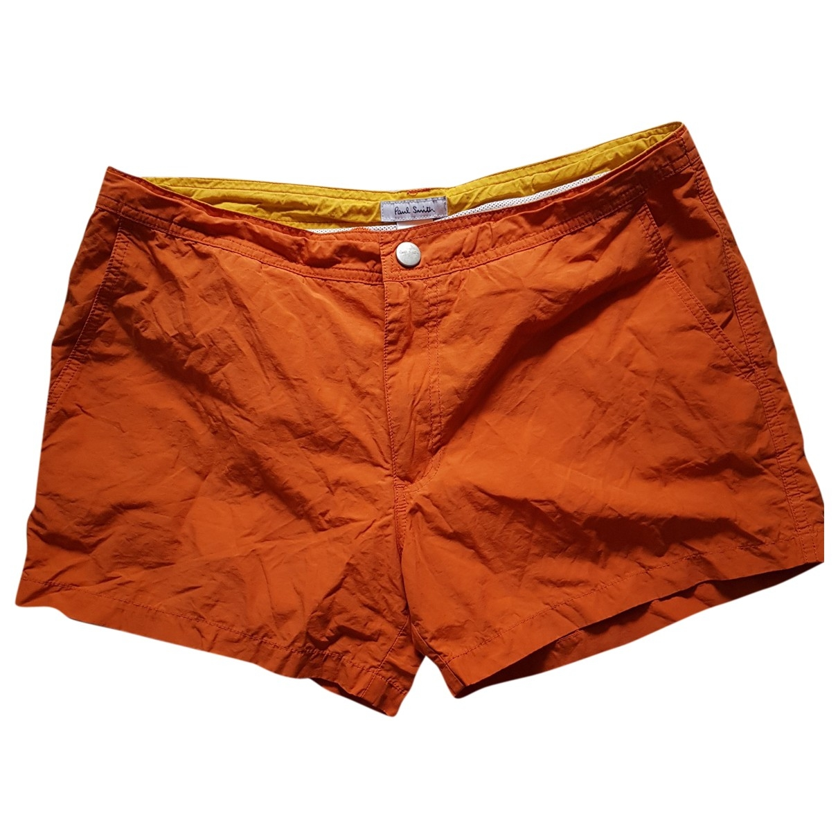 Paul Smith \N Orange Cotton - elasthane Swimwear for Men L International
