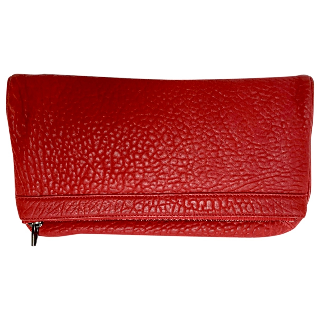 Alexander Wang \N Red Leather Clutch bag for Women \N
