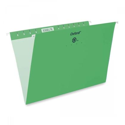 Pendaflex@ Essentials Esselte Oxford couleur dossiers suspendus - L egal ,vert pale
