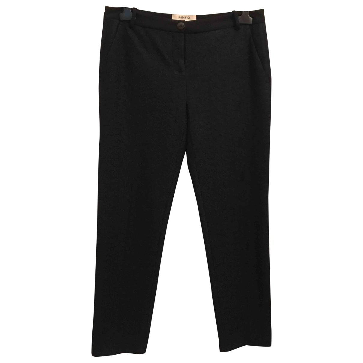 Pinko \N Blue Trousers for Women 44 IT