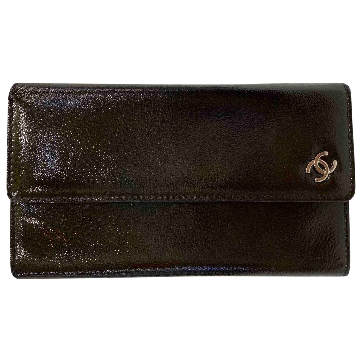 Chanel \N Patent leather wallet for Women \N