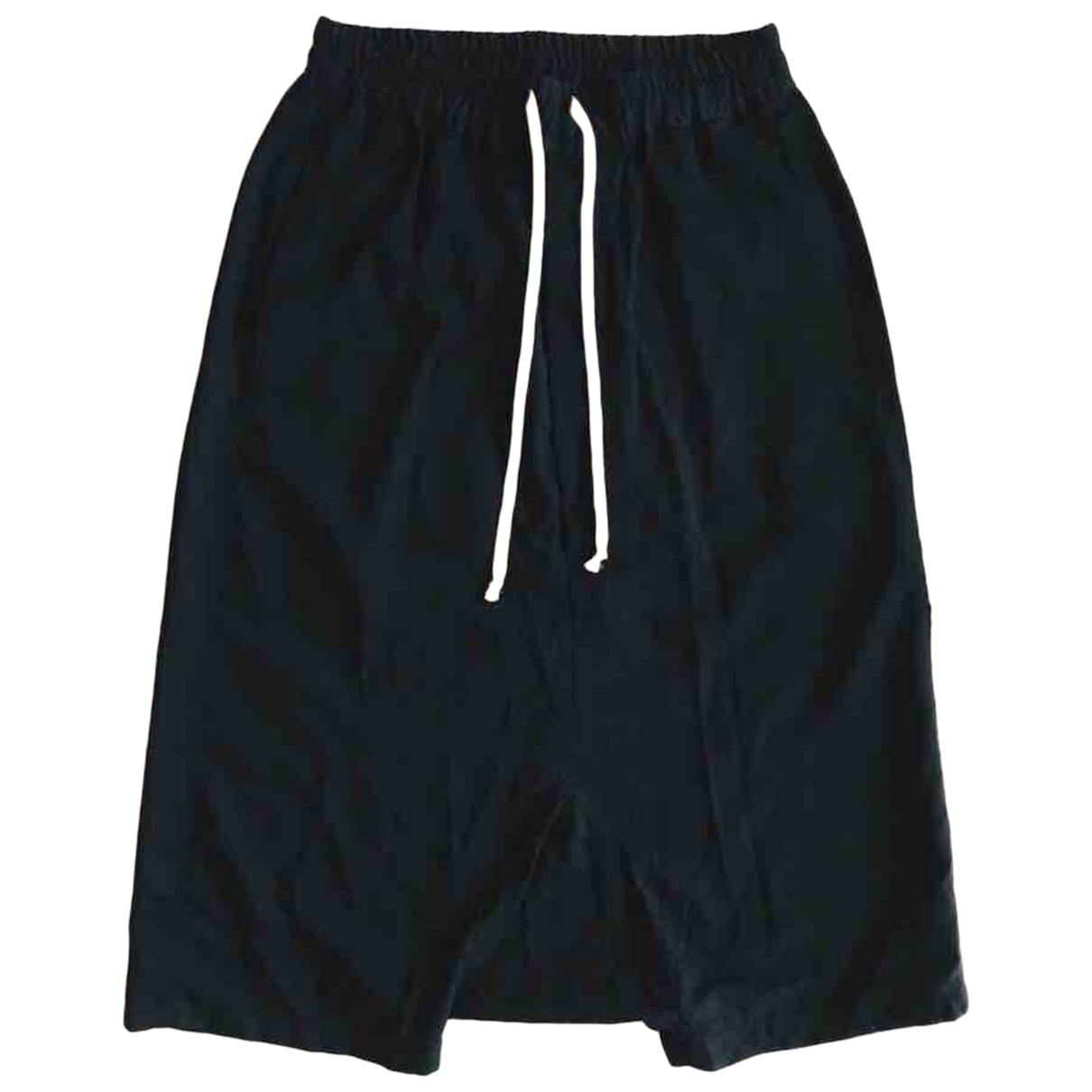 Rick Owens \N Black Cotton Shorts for Men S International
