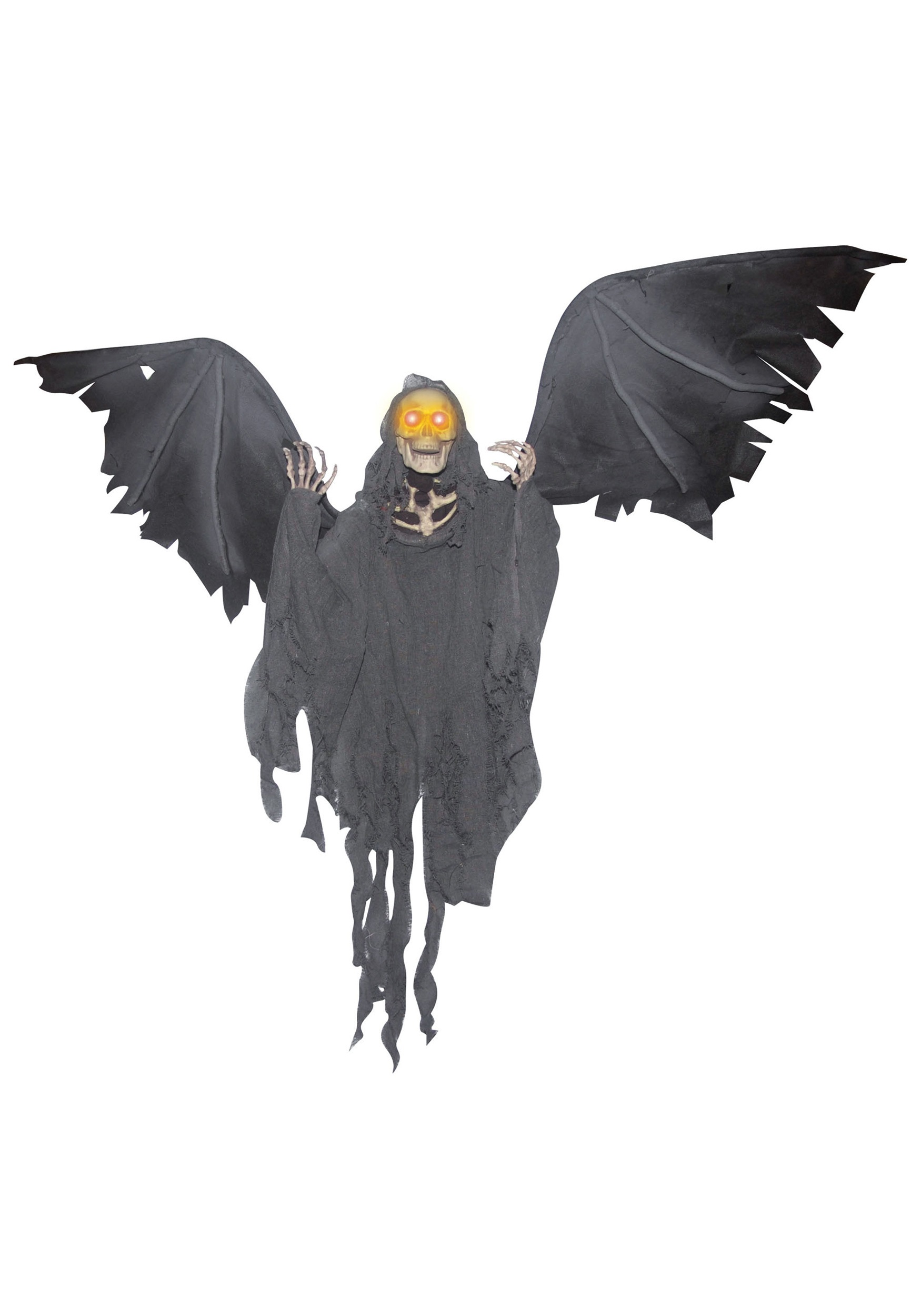 Flying Skeleton Reaper Halloween Decor