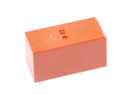 TE Connectivity , 24V ac Coil Non-Latching Relay SPDT, 12A Switching Current PCB Mount Single Pole