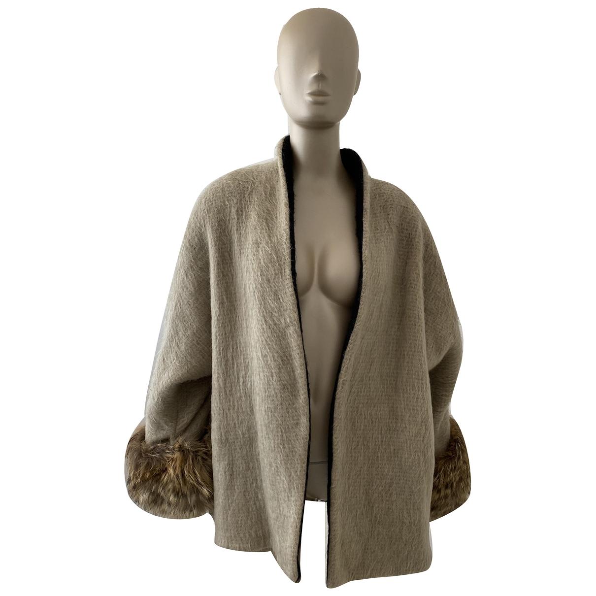 Gianfranco Ferré \N Beige Wool coat for Women 40 IT